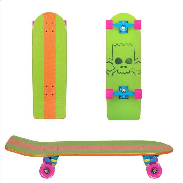 À quel personnage appartient ce skate ?