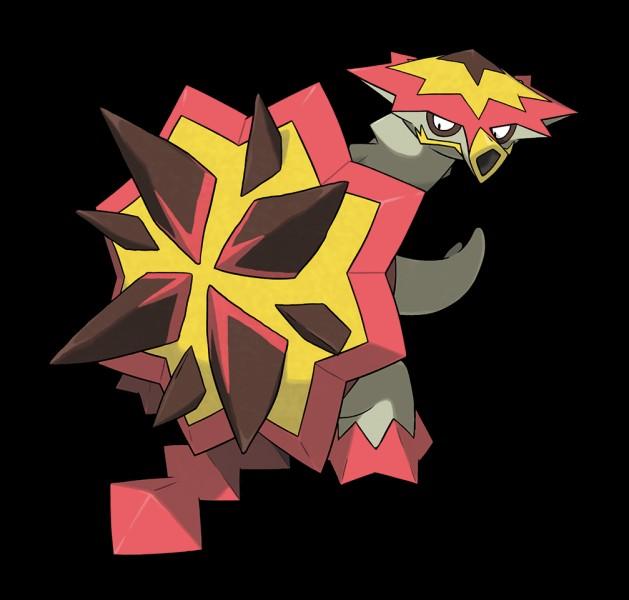 Quel est ce Pokémon de type dragon ?