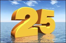 Sélectionne la fête se déroulant un 25.