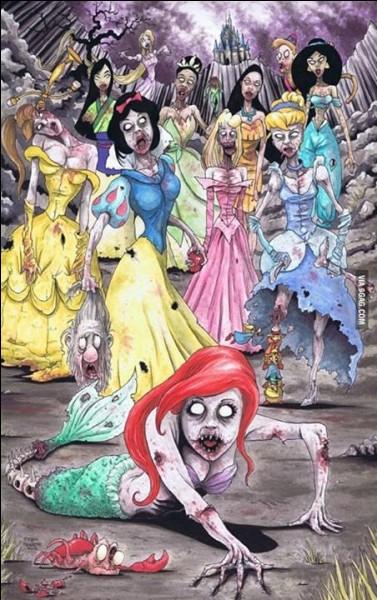 Quelle princesse n'apparaît pas sur cette image ?