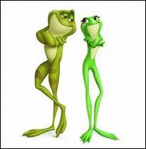 Quel est le film où une princesse se transforme en grenouille ?