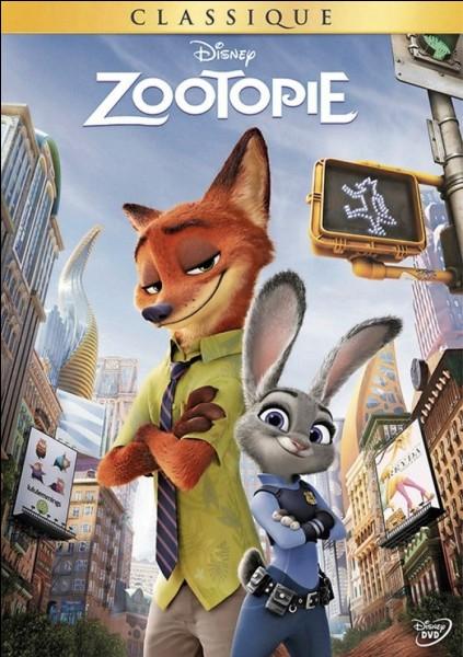 """Z - La ville de """"Zootopie"""" est exclusivement peuplée d'animaux."""