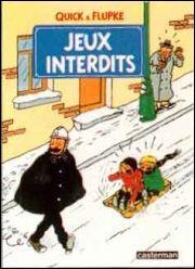 """Q - """"Quick et Flupke"""" est une série d'albums de bande dessinée créée par Hergé."""