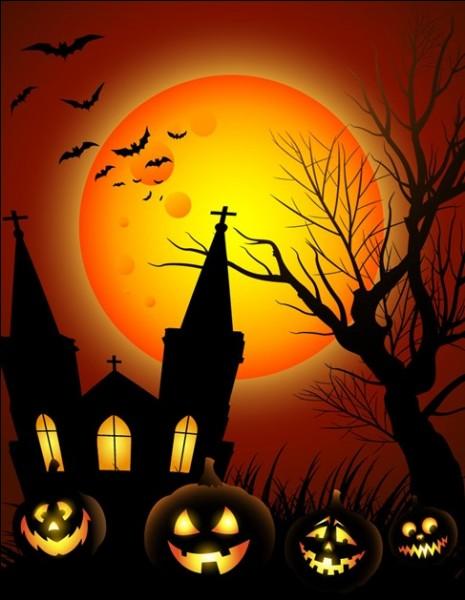 Qu'est-il de coutume de chasser le soir d'Halloween ?