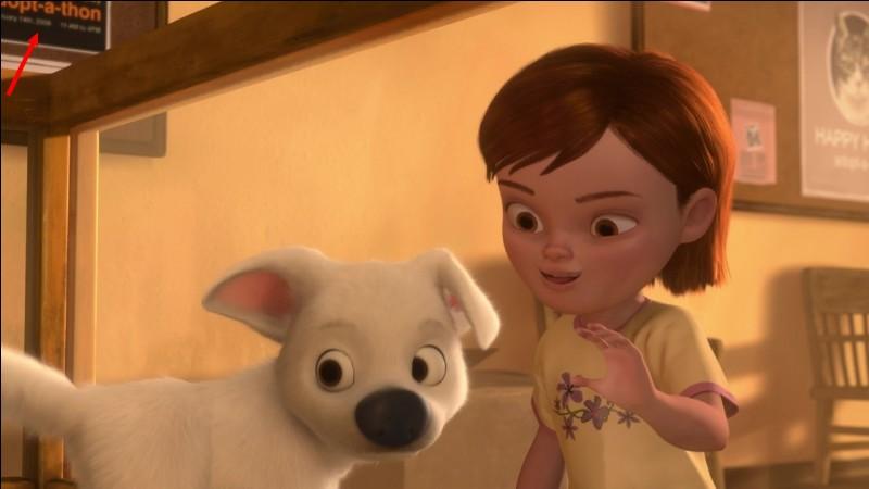 À la fin du film, comment Volt retrouve-t-il sa maîtresse ?