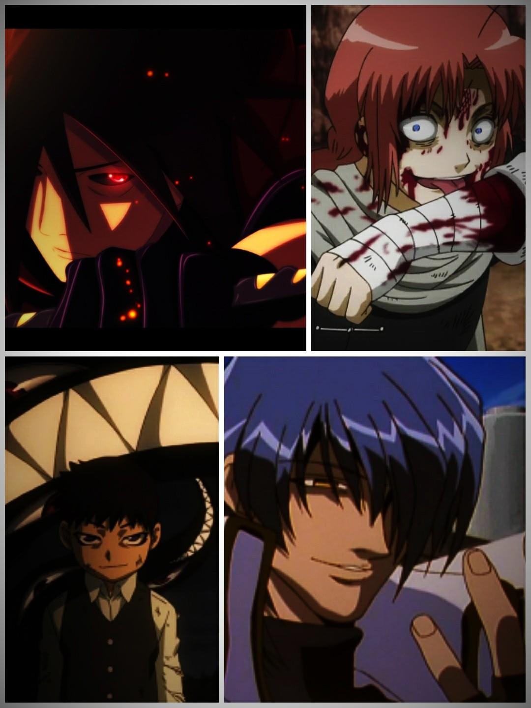 Les méchants dans les mangas/animes