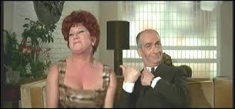 Dans quel film Louis de Funès joue-t-il le rôle de Félicien Mézeray ?