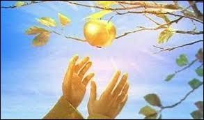 Quel est le nom de ce jardin, dans la mythologie grecque, qui renferme un pommier couvert de pommes d'or ?