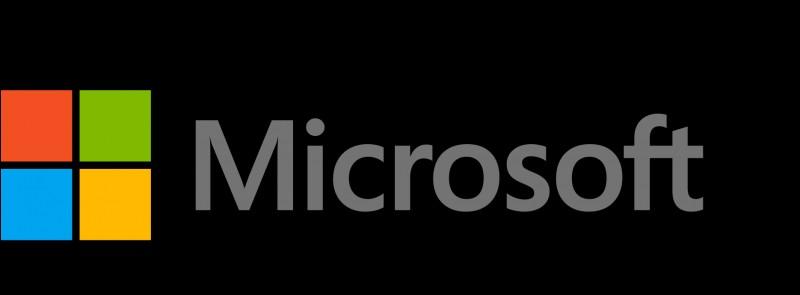 C'est le logo de Microsoft ?