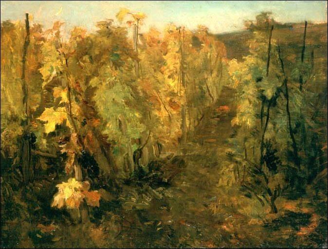"""A qui appartient ce tableau représentant """"La vigne"""" ?"""
