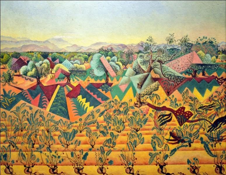 """Ce tableau s'intitule """"Vignes"""", qui en est le peintre ?"""