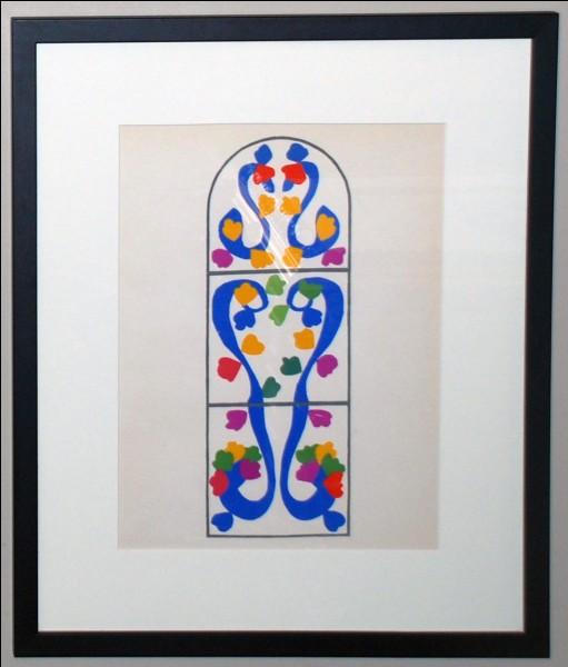 """A quel artiste fauve doit-on la lithographie intitulée """"La vigne"""" ?"""