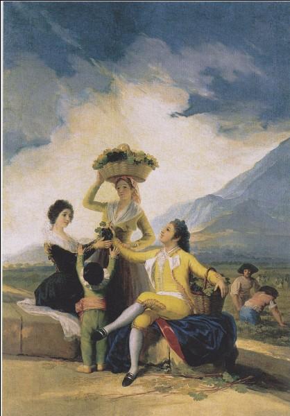 Qui a peint La vendange d'automne ?