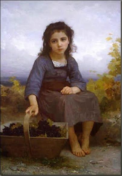 """Qui a fait le portrait de """"La petite vendangeuse"""" ?"""