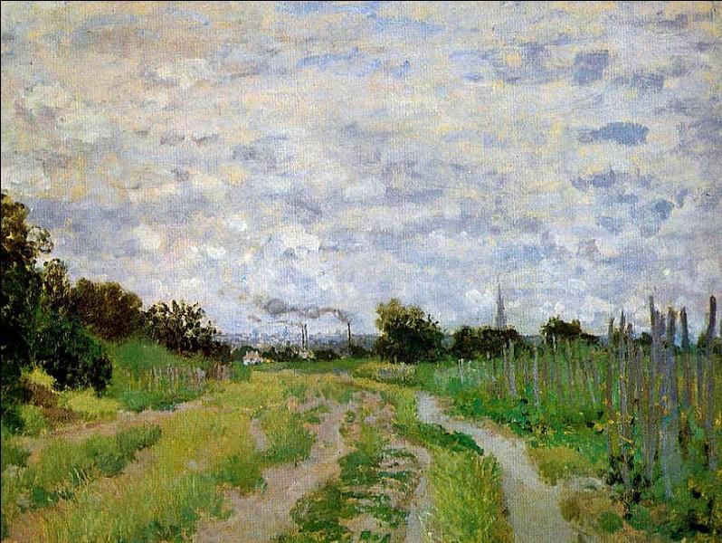 """Qui a peint """"Chemin dans les vignes"""" ?"""