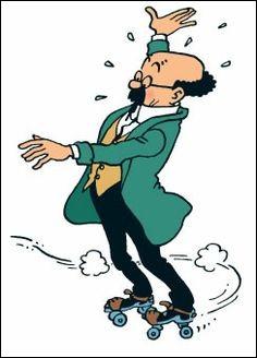 Le prénom de ce distrait professeur, c'est Tryphon et il est parfois calme sauf quand on le traite de zouave ; c'est un dur d'oreilles, moustachu et lunettes rondes, il est un anachronisme sur pied mais grâce à ses inventions, Tintin s'est retrouvé en sous-marin et en fusée vers la lune ! Il s'agit de :