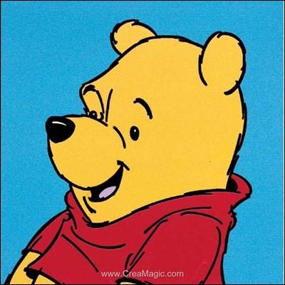 Il est tellement gentil, il a le coeur grand ouvert et il aide ses amis. À peine a-t-il un minuscule péché mignon, le miel comme tout ourson. C'est :