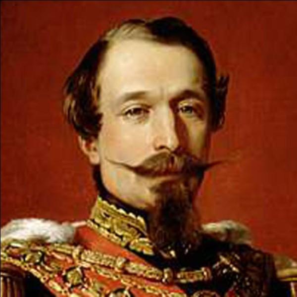 Seul président de la deuxième République, j'ai exercé mes pouvoirs entre 1848 et 1852. Je porte le même nom qu'un empereur français. Qui suis-je ?