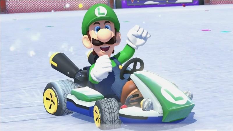 Quel personnage n'est jamais apparu dans Mario Kart 8 Deluxe ?