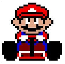 Mario Kart - Les personnages et les objets