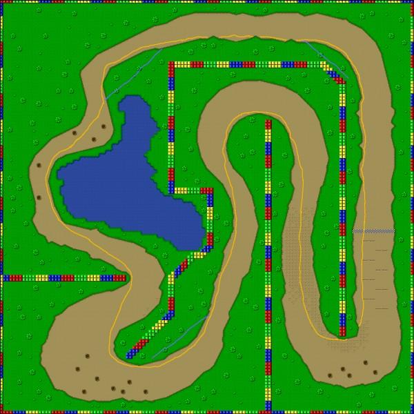 Quel est ce circuit ? (Super Mario Kart)
