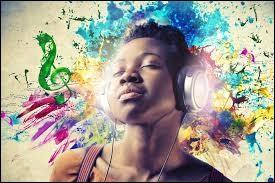 Tu aimes beaucoup écouter de la musique...