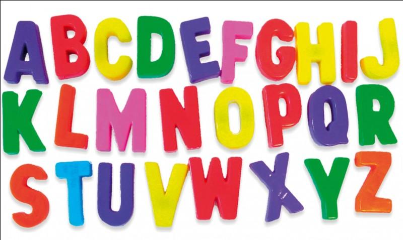 Humour - Quelles sont les lettres qui bougent le plus ?