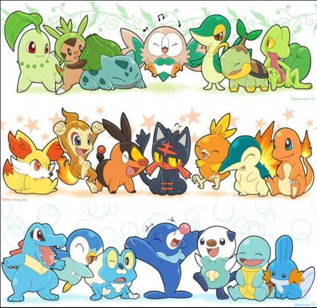 Qui sont ces Pokémon ?