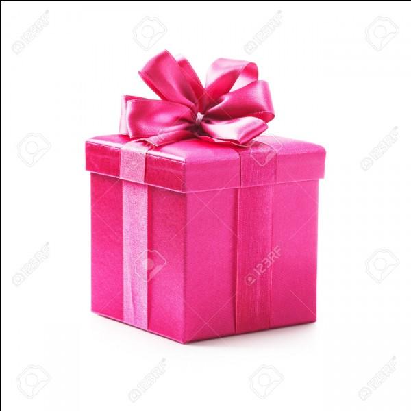 """Comment dit-on """"cadeau"""" en anglais ?"""