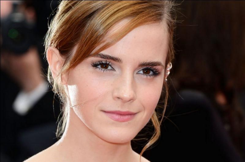 Quelle actrice interprète le rôle d'Hermione ?