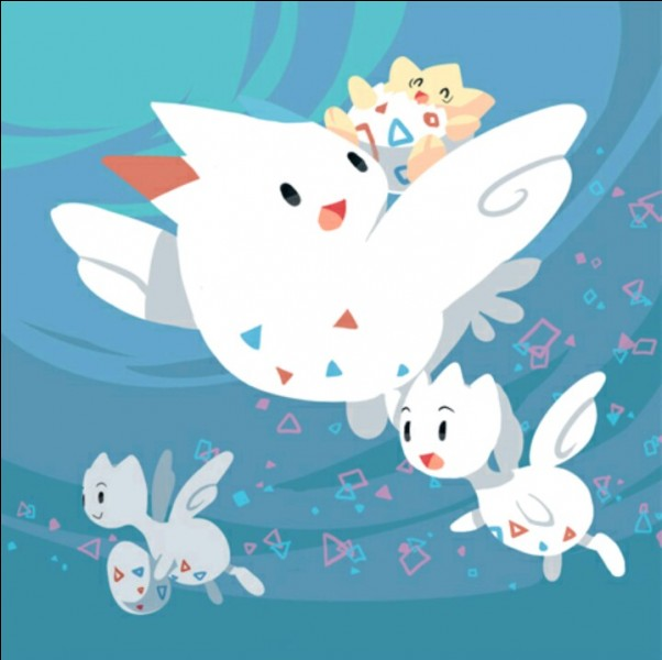 Comment évolue Togetic en Togekiss ?