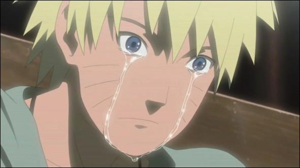 Naruto pleure. Eh oui, cela arrive même aux meilleurs. Mais il faut le comprendre, il vient de perdre une personne extrêmement importante à ses yeux. Qui a tué cette personne ?