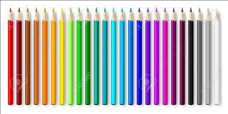 Quelle est votre couleur préférée ?