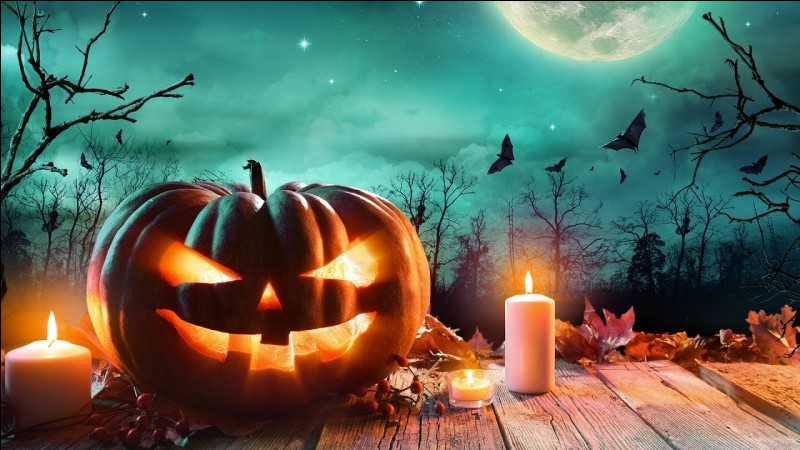 Quelles sont les deux couleurs indissociables d'Halloween ?