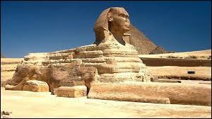 De quel animal le Sphinx de Gizeh en Égypte a-t-il le corps ?
