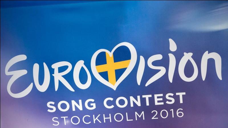A quel place termine-t-il l'Eurovision à Stockholm, en 2016 ?
