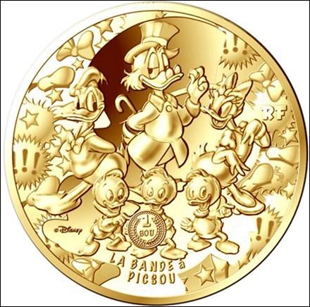 Vous connaissez tous le riche Picsou ! Comment a-t-il acquis sa fortune ?