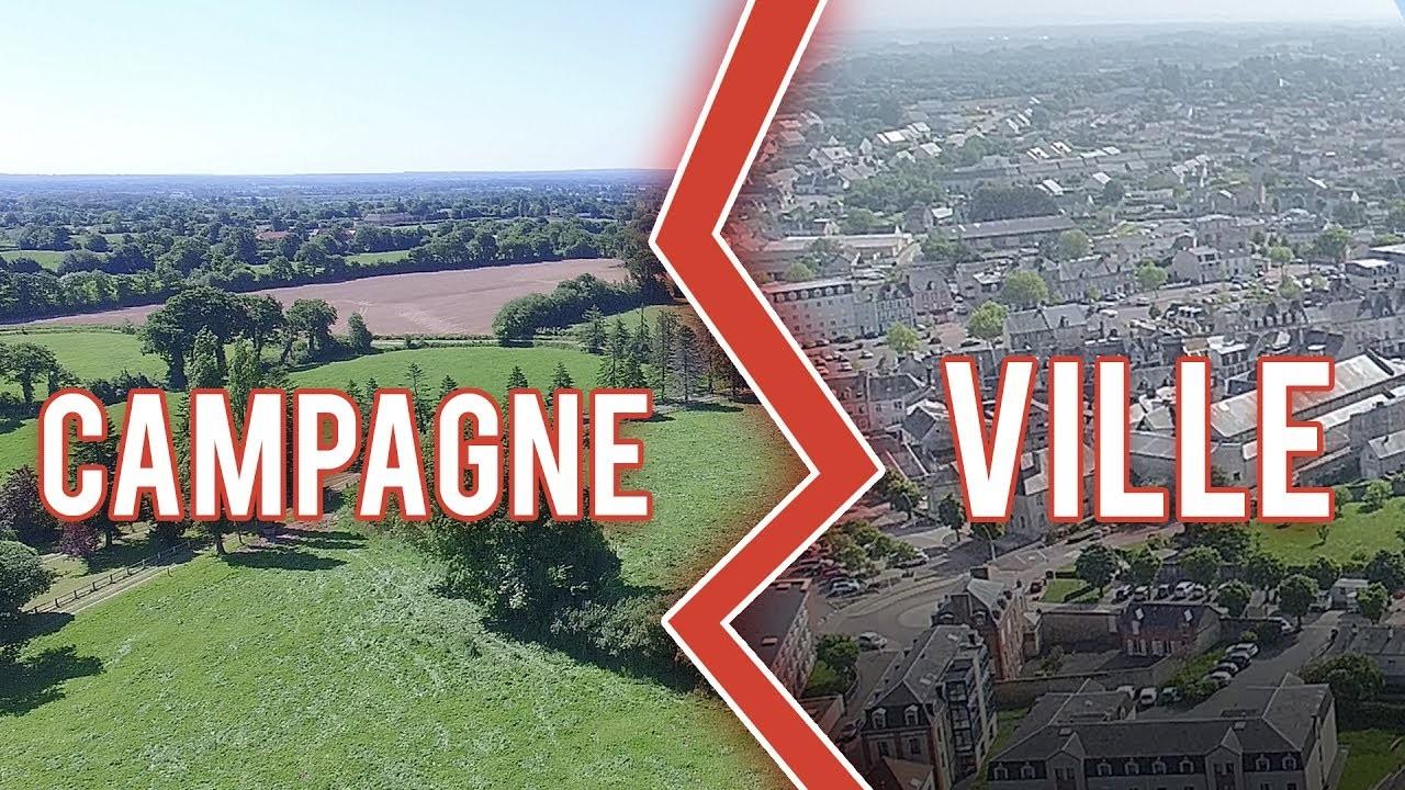 Devrais-tu vivre à la campagne ou à la ville ?