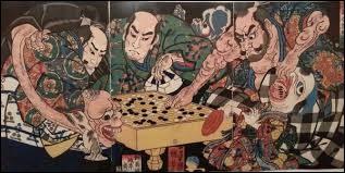 Né en Chine il y a plusieurs milliers d'années ce jeu ne s'est répandu en occident que récemment. Simple en apparence il est d'une redoutable complexité.