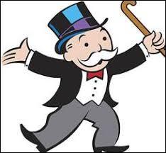 Rich Uncle Pennybags, mascotte du jeu de ... , serait inspiré d'un célèbre banquier américain immensément riche et propriétaire du Titanic lorsque celui-ci coula.