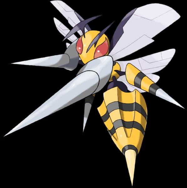 Oh non, une abeille ! Quel est le nom de ce Pokémon ?