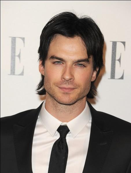 """Il est connu pour avoir joué le rôle de """"Damon Salvatore"""" dans la série Vampire Diaries :"""