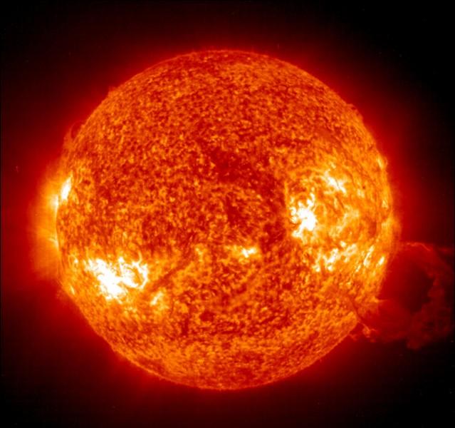 Physique et chimie : Quelle est la température de la surface du Soleil ?