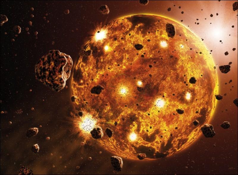 S.V.T et biologie : Quand la Terre s'est-elle formée ?