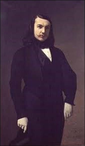 Quel ami du poète, romancier et critique d'art, Théophile Gautier, artiste peintre, sculpteur et poète, a peint son portrait en 1839 ? (On peut admirer cette toile au musée de la Vie romantique à Paris).