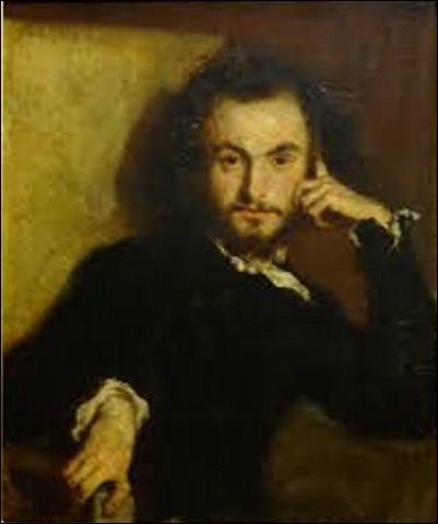 Huile sur toile conservée au musée des châteaux de Versailles et de Trianon, ''Portrait de Charles Baudelaire'' est un tableau réalisé en 1844. Qui en est l'auteur ?