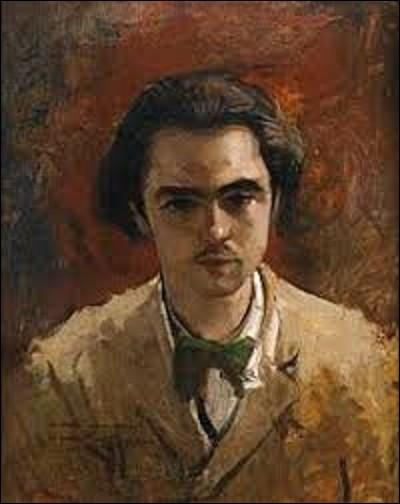 Quel est le nom de ce peintre impressionniste qui a réalisé cette huile sur toile en 1867, peinture représentant l'écrivain et poète Paul Verlaine jeune, et qui a annoté au bas de son tableau, à gauche : ''à mon cher ami Paul Verlaine'' ?