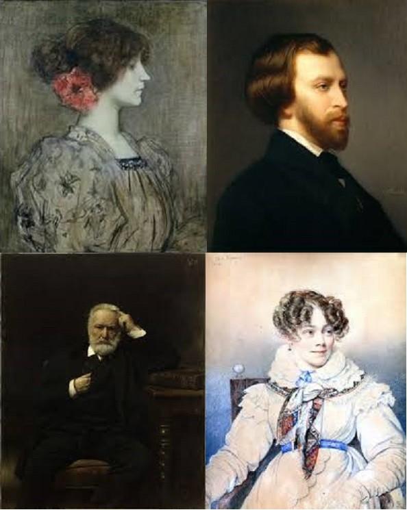 Les écrivains en peinture