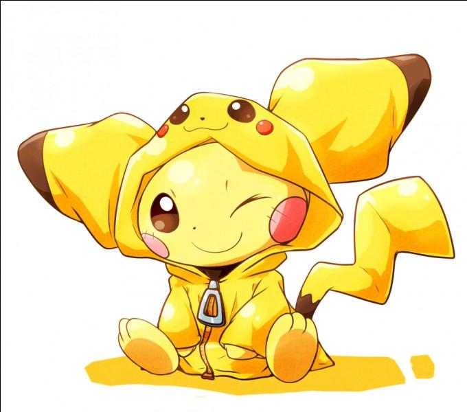 En disant que la beauté ne fait pas la force, voilà un Pokémon plutôt mignon ! Je ne sais pas s'il est fort, mais je sais que son nom est...