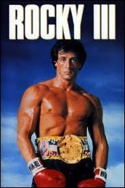 """Quelle chanson est associée au film américain """"Rocky III"""" ?"""